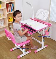 Детская парта со стульчиком Cantare, лампа + подставка, фото 1