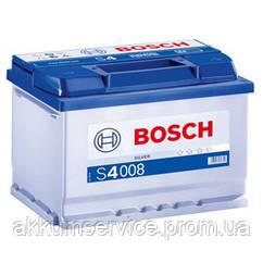 Аккумулятор автомобильный Bosch S4 Silver 74Ah R+ 680A евро (S4 008)