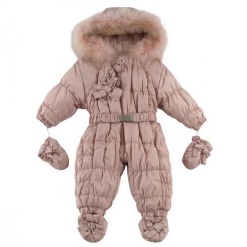 Комбинезон зимний с натуральным мехом  Ceremony by Wojcik  62