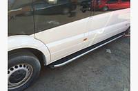 Силовые пороги Mercedes Sprinter II (вариант Fullmond)