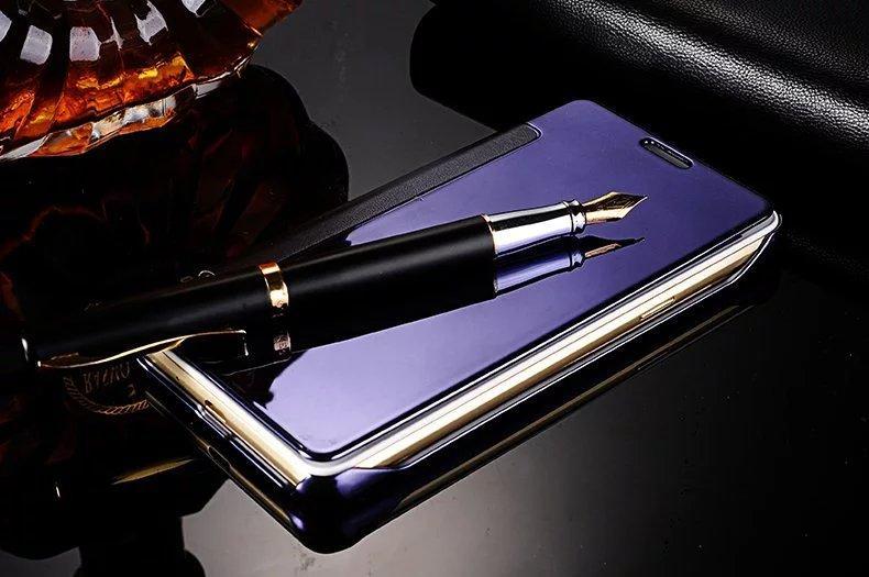 Чохол Mirror для Samsung Galaxy A3 2016 A310 книжка дзеркальний Dark Blue