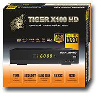 Спутниковый ресивер Tiger X100 HD + прошивка