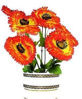 Ритуальный цветок Маргаритка искусственная