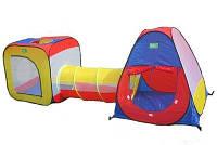 Палатка 5025 - две игровых палатки с тоннелем
