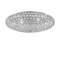 Светильник потолочный Ideal Lux King PL9 cromo 73255