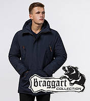 Braggart Arctic 47450 | Зимняя мужская парка синяя р. 48
