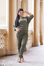 Женский брючный костюм демисезонный размеры:50,52,54,56, фото 3