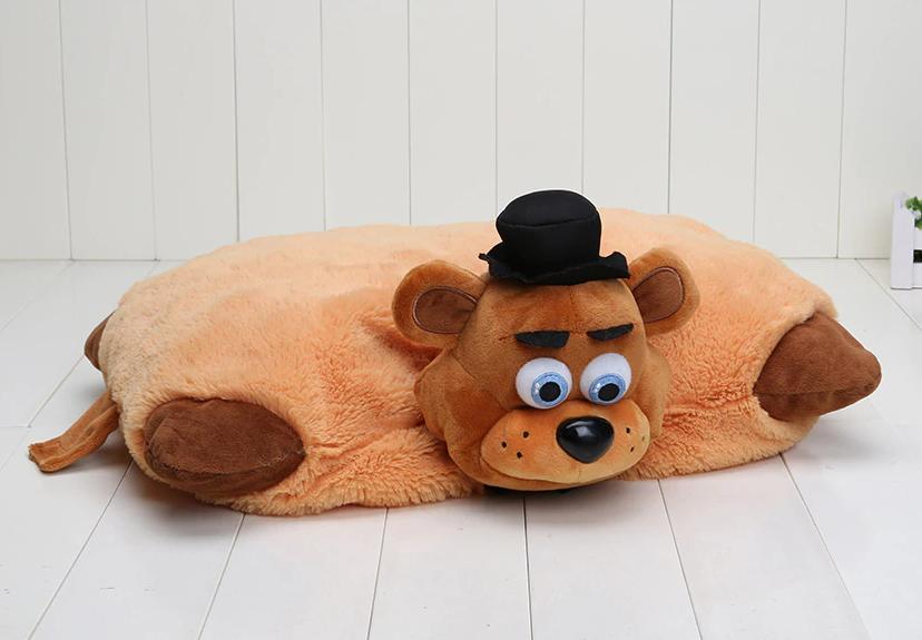 Подушечка - игрушка Фредди Аниматроники 5 ночей с Фредди 44*35 см. FNAF