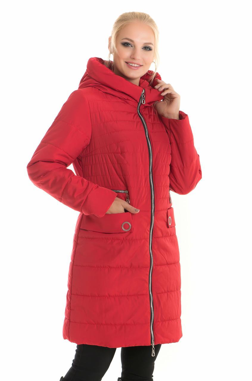 Куртка весенняя красная 90