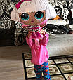 Фольгований куля лялька лол 65 см, фото 3