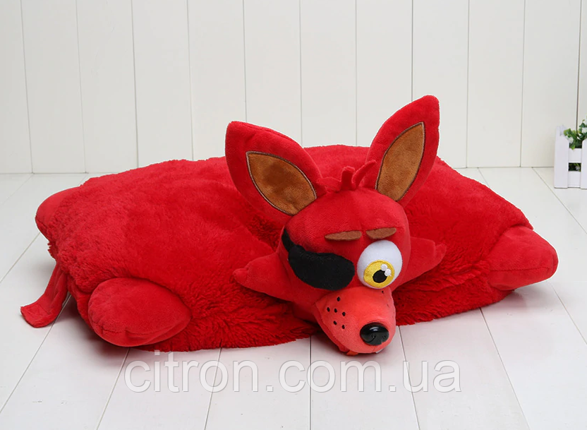 Подушечка - игрушка Фокси Аниматроники 5 ночей с Фредди 44*35 см. FNAF