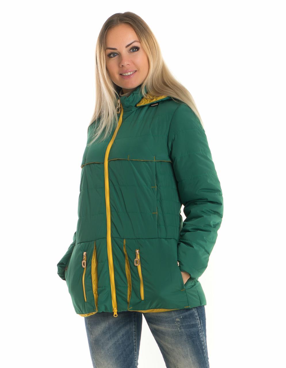 Женская куртка с капюшоном от производителя