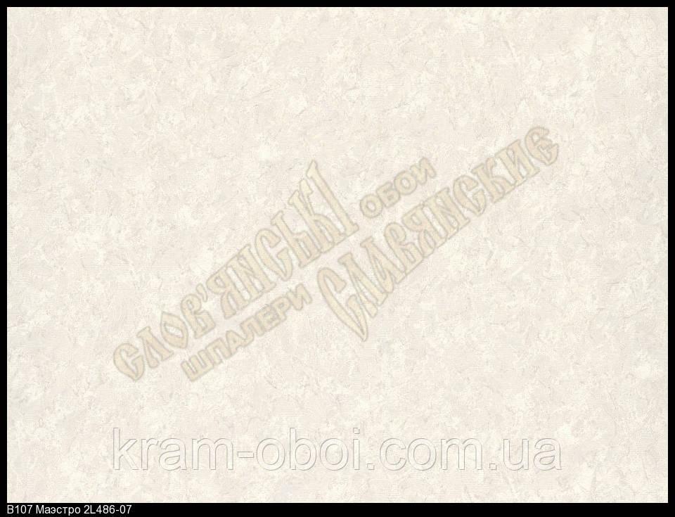 Обои Славянские Обои КФТБ виниловые горячего тиснения 10м*1,06 9В107 Маэстро 2 486-07
