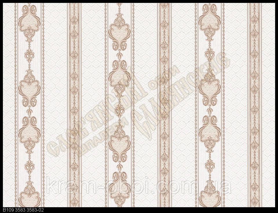 Обои Славянские Обои КФТБ виниловые на флизелиновой основе 10м*1,06 9В109 Дамаск 2 3583-02