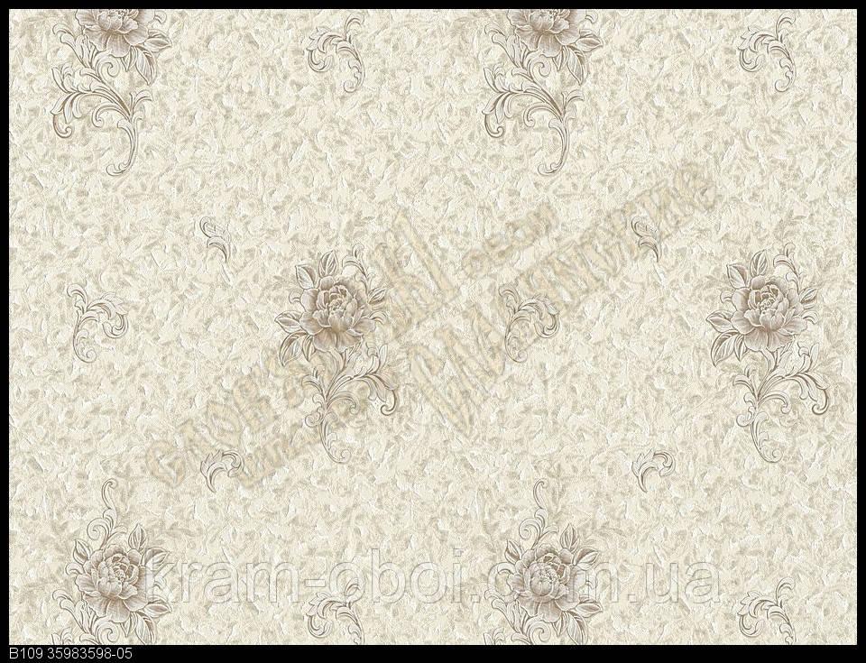Обои Славянские Обои КФТБ виниловые на флизелиновой основе 10м*1,06 9В109 Энигма 3598-05