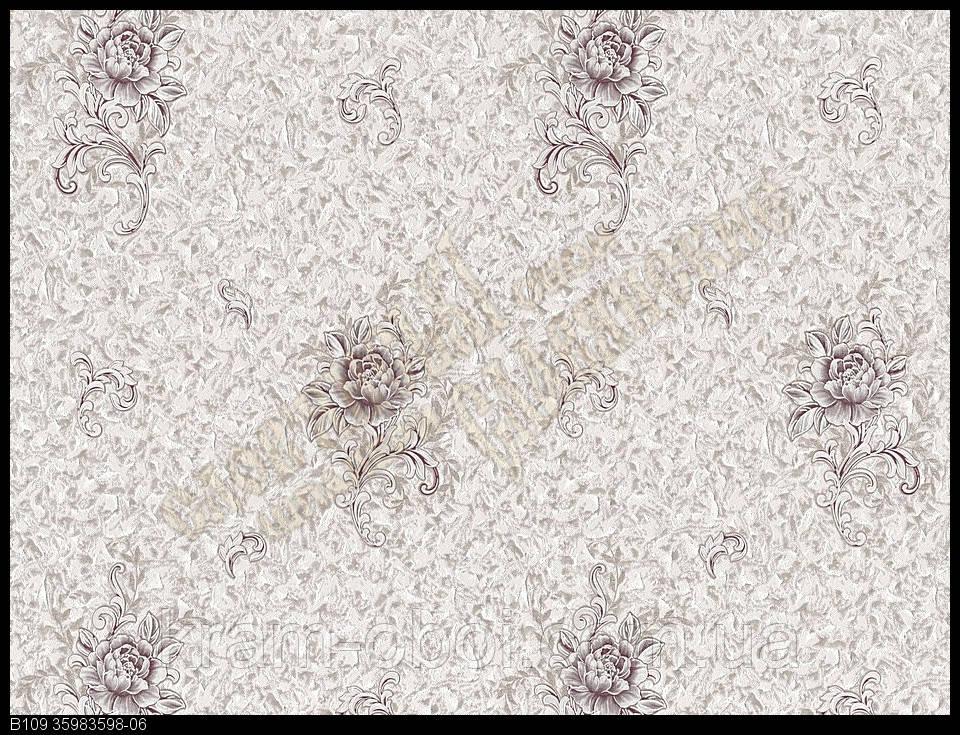 Обои Славянские Обои КФТБ виниловые на флизелиновой основе 10м*1,06 9В109 Энигма 3598-06