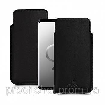 Футляр Stenk Elegance для Samsung Galaxy S9 Чёрный