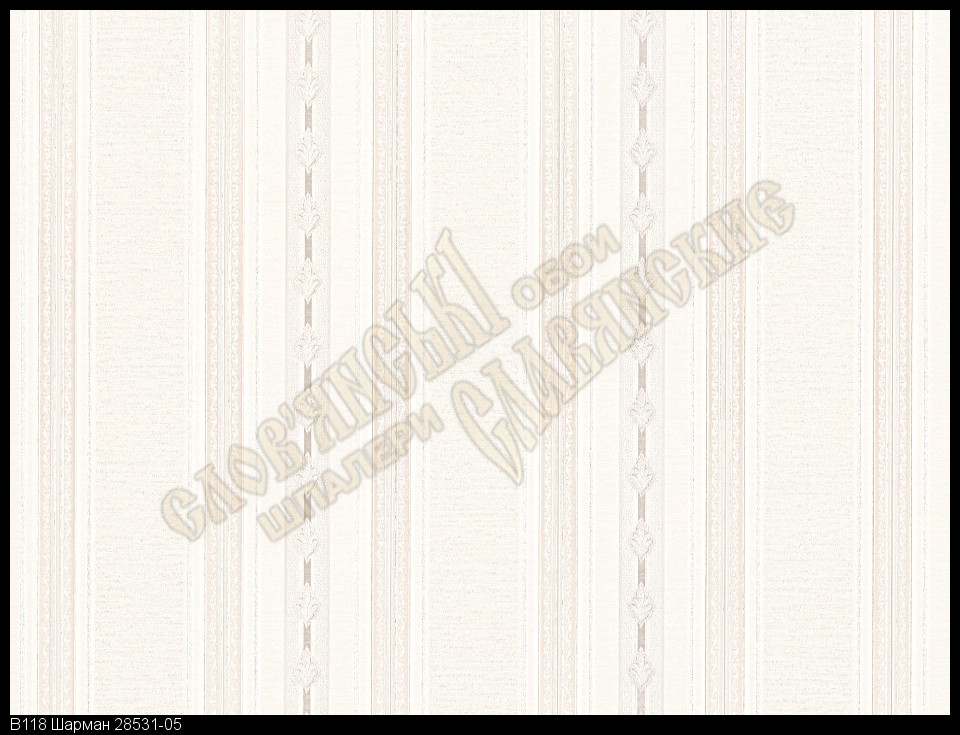 Обои Славянские Обои КФТБ виниловые горячего тиснения 10м*1,06 9В118 Шарман2 8531-05
