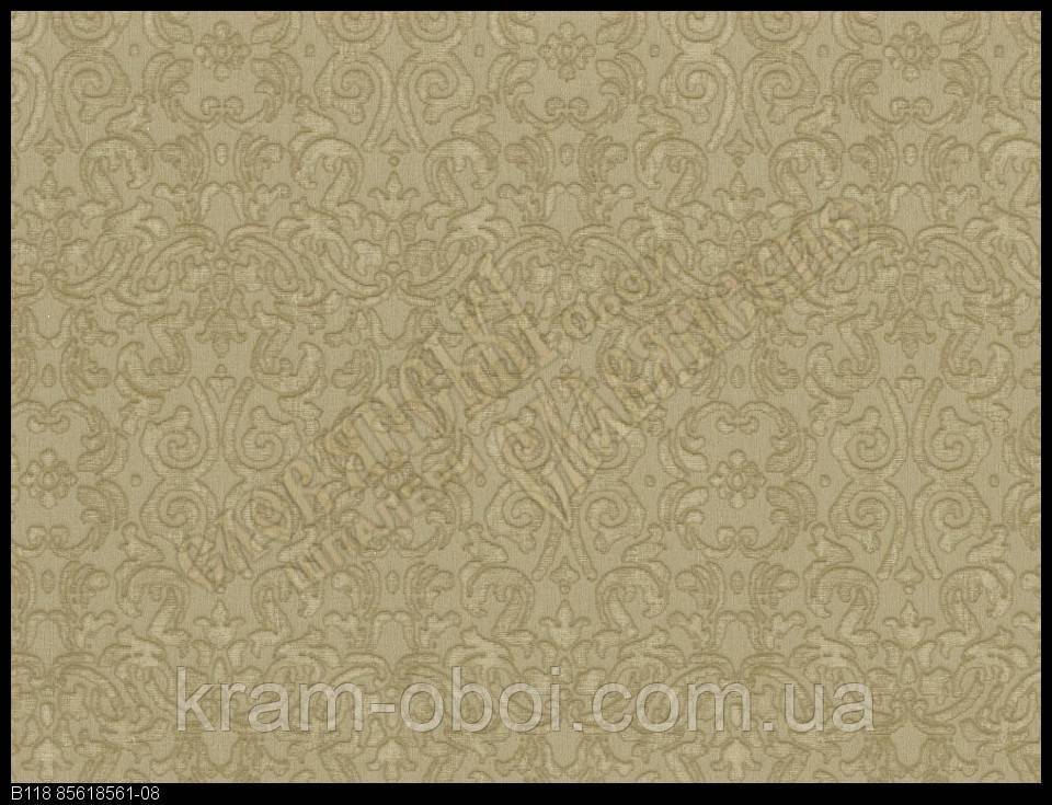 Обои Славянские Обои КФТБ виниловые горячего тиснения 10м*1,06 9В118 Элина 2 8561-08