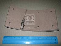 Накладка гальмівна ГАЗ 3307, 3309, 53 задня коротка сверленная (200х100) (вир-во Трібо)