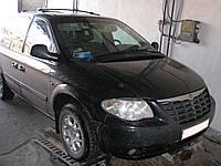Защита двигателя и КПП Dodge Caravan (2001-2007) автомат 2.8 D