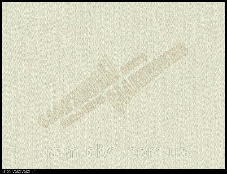 Обои Славянские Обои КФТБ виниловые горячего тиснения 10м*1,06 9В122 Патриция 2  V 503-04