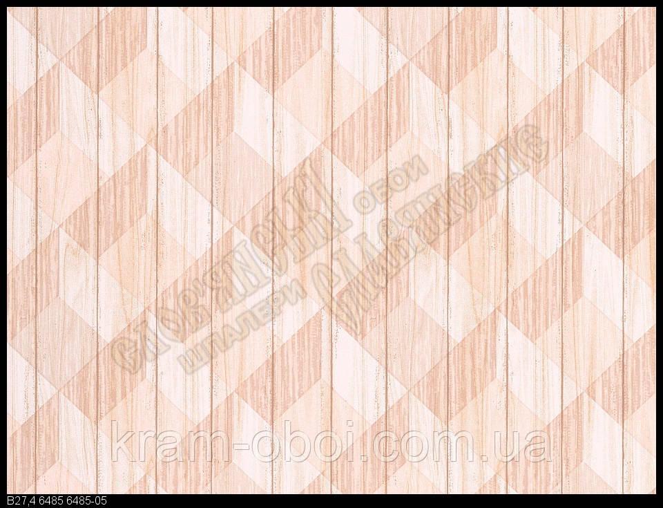 Обои Славянские Обои КФТБ простые бумажные 10м*0,53 9В27 Графика 6485-05