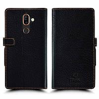 Чехол книжка Stenk Wallet для Nokia 7 Plus Чёрный