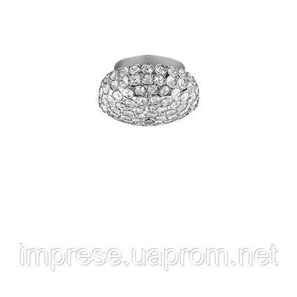 Светильник потолочный Ideal Lux King PL3 cromo 75389