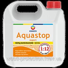 Мелкодисперсная глибокопроникаюча грунтовка-концентрат Eskaro Aquastop Expert 3л
