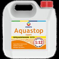 Мелкодисперсная глубокопроникающая грунтовка-концентрат Eskaro Aquastop Expert 1л