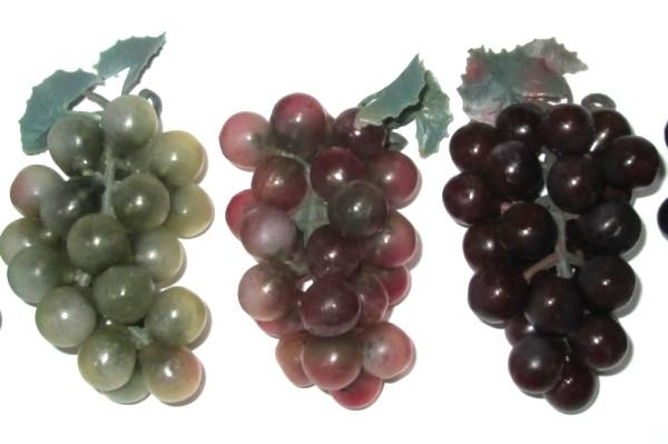 Виноград искусственный 7/4 см, красный