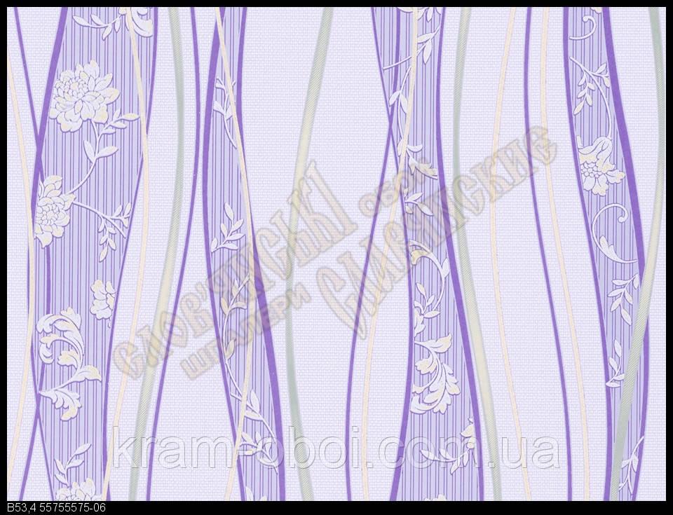 Обои Славянские Обои КФТБ виниловые на бумажной основе 10 м*0,53 9В53 Бонни  5575-06