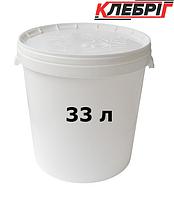 Ведро с крышкой 33л пластиковое, пищевое