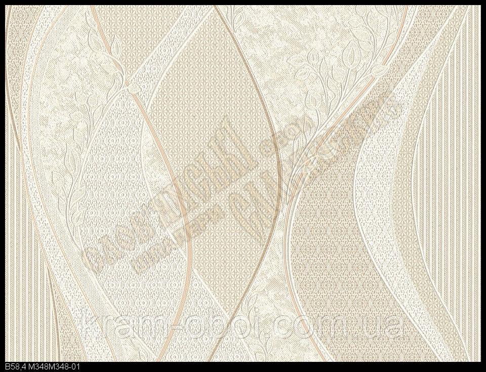 Обои Славянские Обои КФТБ виниловые на бумажной основе 10 м*0,53 9В58 Болеро 2 348-01
