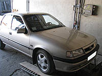 Защита двигателя и КПП Opel Vectra A (1988-1995) механика 2.0