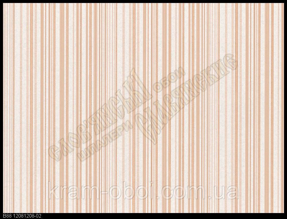 Шпалери Слов'янські Шпалери КФТБ вінілові на флізеліновій основі 10м*1,06 9В88 Салют 2 1208-02