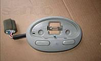 Корпус фонаря салона с кнопкой под люк (серый) Шевролет Авео