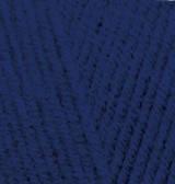 Пряжа для вязания Лана голд 590 темно синий