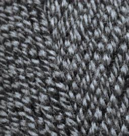 Пряжа для вязания Лана голд 600 светло серый меланж