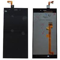 Дисплей для Xiaomi Mi3 + touchscreen, черный, оригинал (Китай)