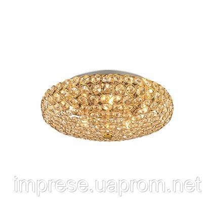 Светильник потолочный Ideal Lux King PL5 oro 73187
