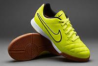 Детская футзальная обувь Nike JR Tiempo Genio Leather Indoor