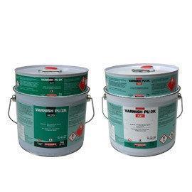 Лак полиуретановый защитный Ваниш ПУ 2К (уп. 5 кг) глянец