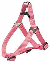 204410 Trixie Шлея-петля Premium нейлон Розовая, 40-50см/15мм