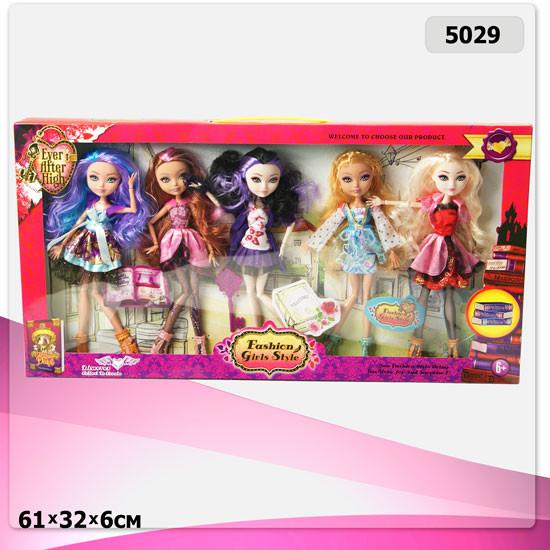 Набор Ever After High из пяти кукол на шарнирах 5029