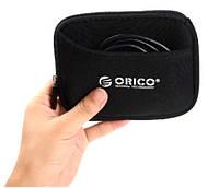 Чехол МЯГКИЙ защитный ORICO для HDD 2.5 дюйма защита от царапин, не от падений занимает мало места SKU0000968, фото 1
