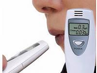 Тестер ALCOHOL TESTER, Цифровой алкотестер с LCD дисплеем, Карманный цифровой алкометр, Измерение алкоголя, фото 1