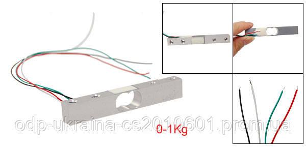 Тензометрический датчик на 1 кг Тензодатчик для весов