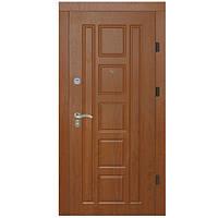 Двери металлические входные APECS 860 Premier (левые) золотой дуб